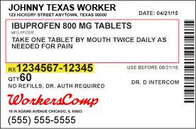 Workers Comp Prescription Coverage